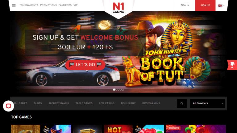 N1 Casino Screenshot 1