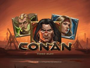 Conan logo achtergrond