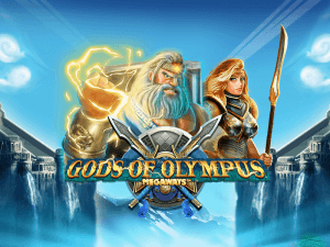 Gods Of Olympus Megaways logo review