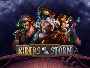 Riders Of The Storm logo achtergrond