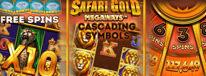 Safari Gold Megaways CS