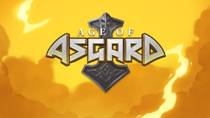 Age Of Asgard logo achtergrond