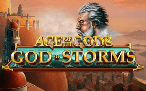 Age Of Gods: God Of Storms logo achtergrond