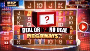 Deal Or No Deal: Megaways logo achtergrond