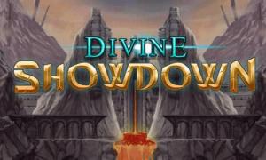 Divine Showdown logo achtergrond