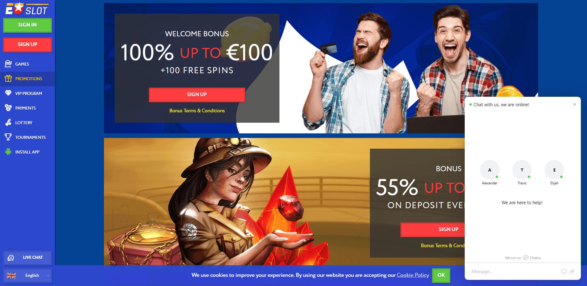 EU Slot Nieuw Casino