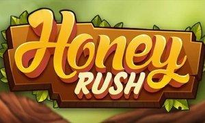 Honey Rush logo achtergrond