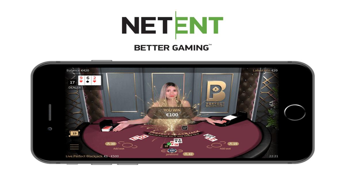 NetEnt lanceert vernieuwde live blackjack variant