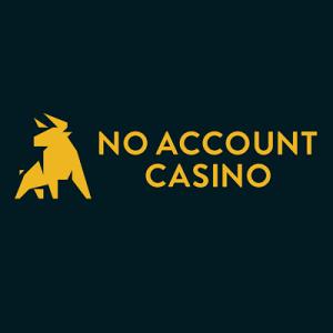 No Account Casino achtergrond