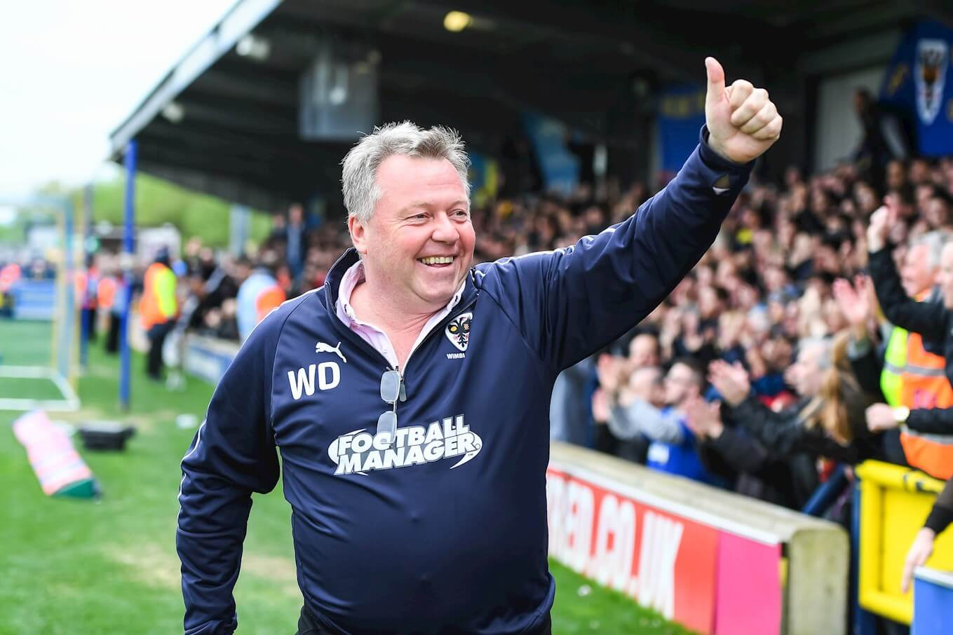 Wally Downes Manager