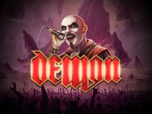 Demon logo achtergrond