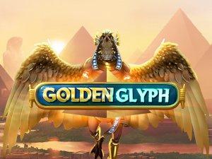 Golden Glyph logo achtergrond