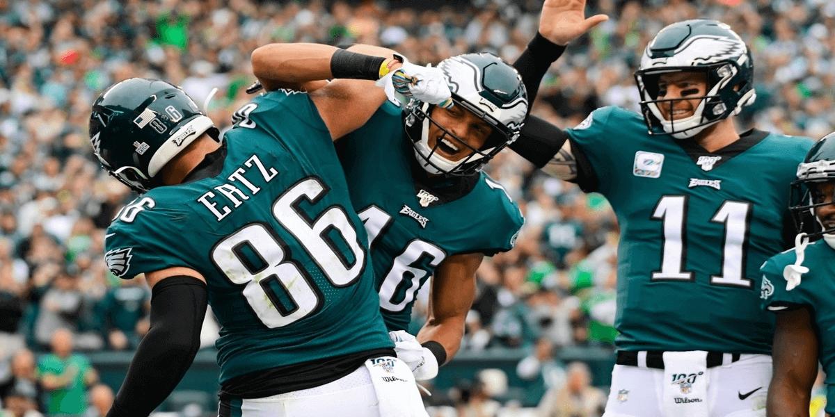 Unibet strikt NFL club Philadelphia Eagles