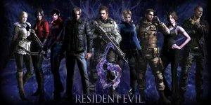 Resident Evil 6 logo achtergrond