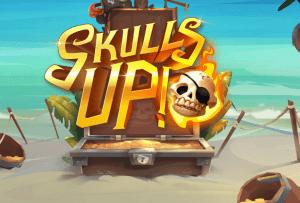 Skulls Up logo achtergrond