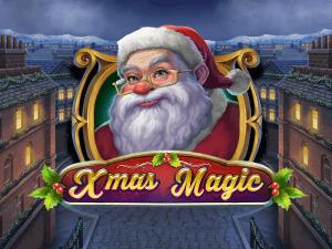 Xmas Magic logo achtergrond
