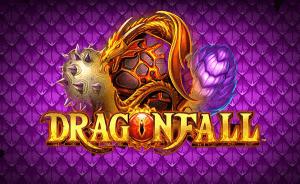 Dragon Fall logo achtergrond