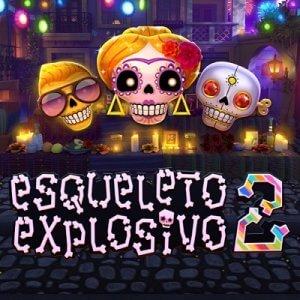 Esqueleto Explosivo 2 logo achtergrond