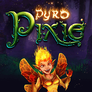 Pyro Pixie logo achtergrond