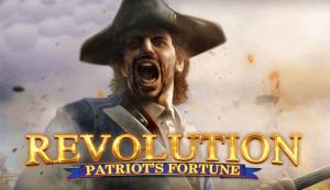 Revolution Patriot's Fortune logo achtergrond