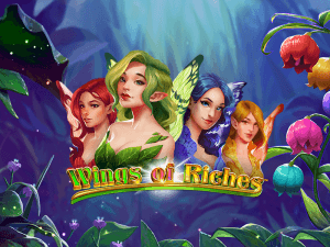 Wings Of Riches logo achtergrond