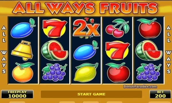 All Ways Fruit CS 1 cent