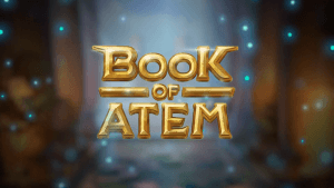 Book Of Atem logo achtergrond