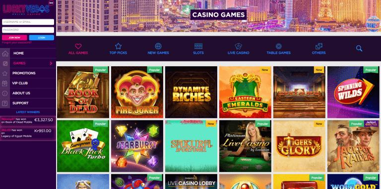 Lucky Vegas Screenshot 2