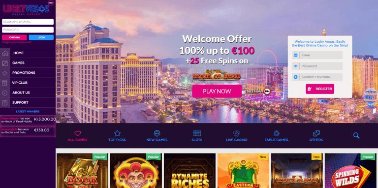 Lucky Vegas Screenshot 1