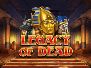 Legacy Of Dead logo achtergrond