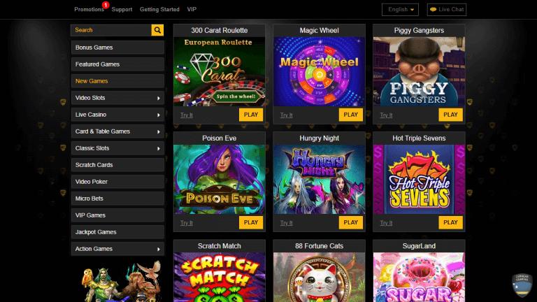 Enzo Casino Screenshot 3