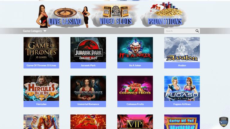 TS Casino Screenshot 3