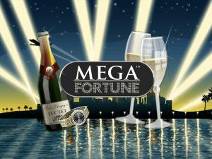 Mega Fortune logo achtergrond