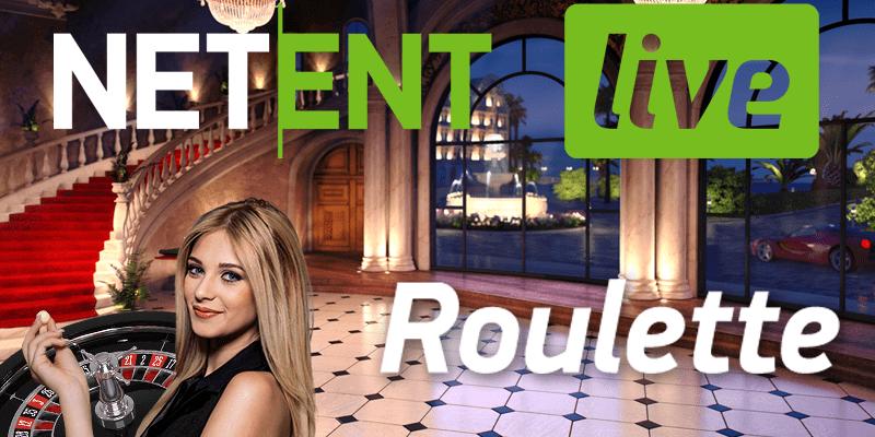 NetEnt brengt nieuw interface Live Roulette uit