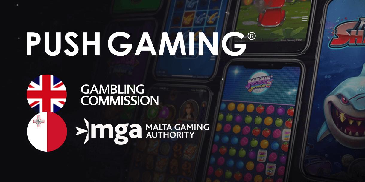 Push Gaming neemt MGA en UKGC licentie in ontvangst