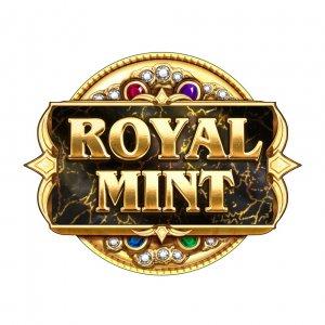 Royal Mint Megaways logo achtergrond