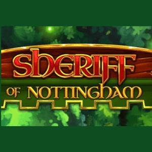 Sheriff of Nottingham logo achtergrond