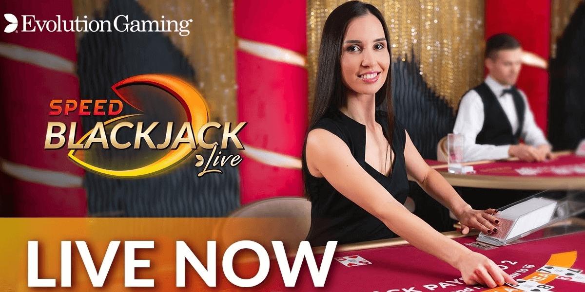 Evolution Gaming presenteert nieuwe blackjack versie: Speed Blackjack