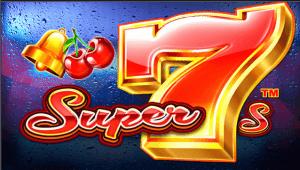 Super 7s logo achtergrond