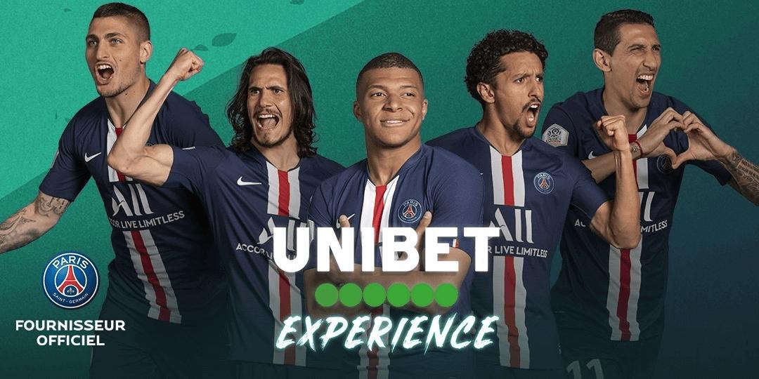 Unibet verlengt sponsor deal met Paris Saint Germain