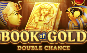 Book Of Gold: Double Chance logo achtergrond