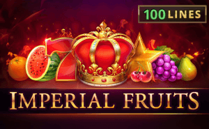 Imperial Fruits: 100 lines logo achtergrond