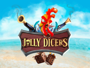 Jolly Dicers logo achtergrond