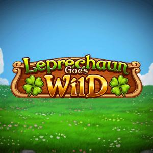 Leprechaun Goes Wild logo achtergrond