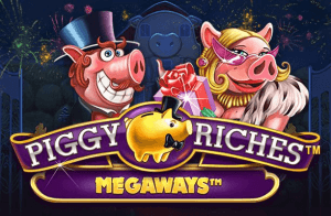 Piggy Riches Megaways logo review