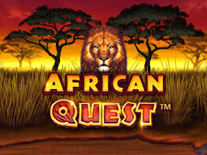 African Quest logo achtergrond