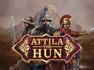 Attila The Hun logo achtergrond