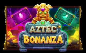 Aztec Bonanza logo achtergrond