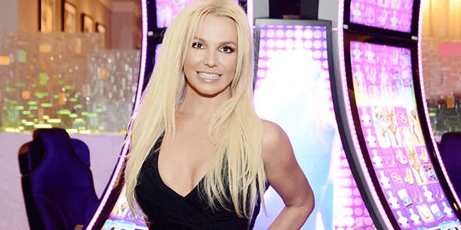 Aristocrat brengt Britney Spears spel uit in Hard Rock Casino