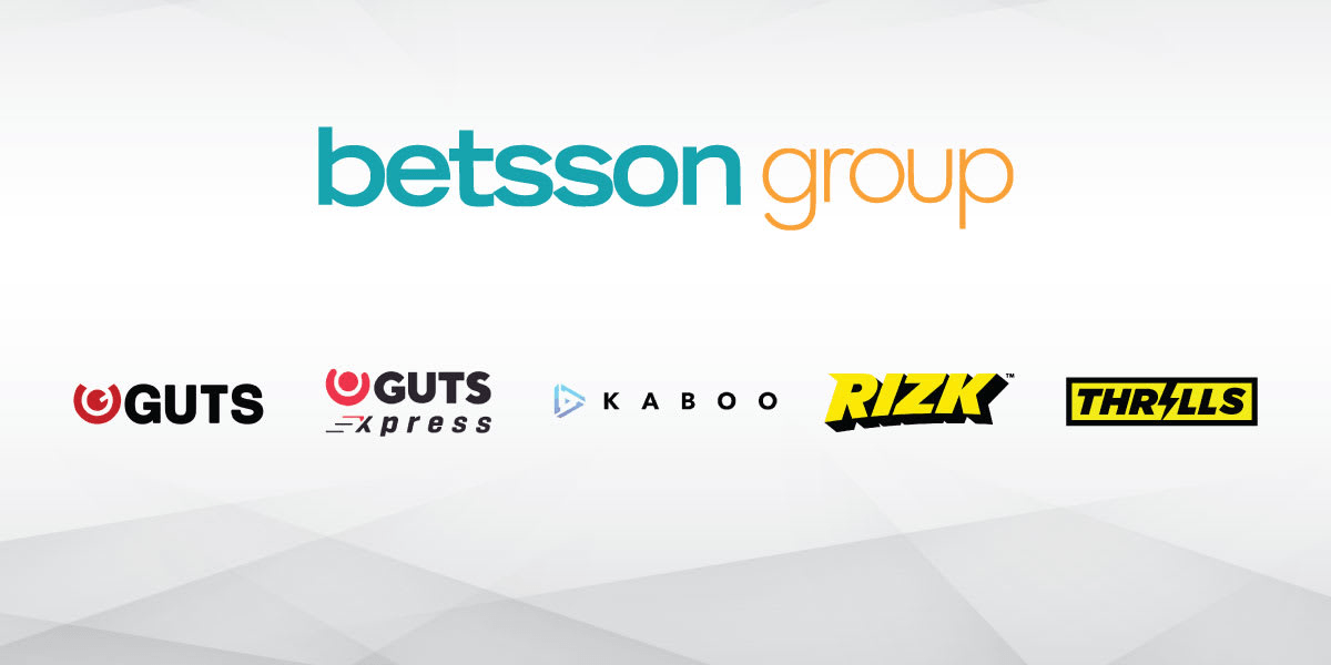 Betsson groep neemt Rizk, Guts, Kaboo en Thrills over